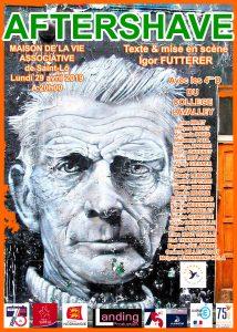 Aftershave Igor Futterer poster 2019