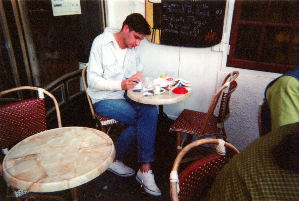 Igor Futterer - La Fraisette - Ecriture de la cigogne n'a qu'une tête - 1996
