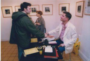 Igor Futterer et Stéphane Braun - La cigogne n'a qu'une tête - Première Dédicace - 2001