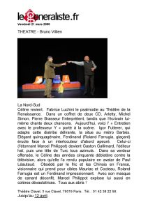La Nord-Sud Igor Futterer Le Generaliste 2008
