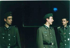 La cigogne n'a qu'une tête Igor Futterer Eric Charon Laurent Lederer Répétition Théâtre de Ménilmontant 1998 -1