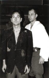 La cigogne n'a qu'une tête Igor Futterer Eric Debrosse Alain Bordier Théâtre de Ménilmontant 1997