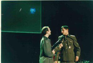 La cigogne n'a qu'une tête Igor Futterer Laurent Lederer Répétition Théâtre de Ménilmontant 1998 -2