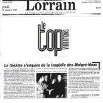 La cigogne n'a qu'une tête - Igor Futterer - Le Républicain Lorrain - 1997