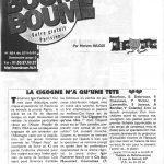 La cigogne n'a qu'une tête - Igor Futterer - Paris Boum Boum - 1997