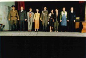 La cigogne n'a qu'une tête Igor Futterer Répétition Théâtre de Ménilmontant 1997 -5