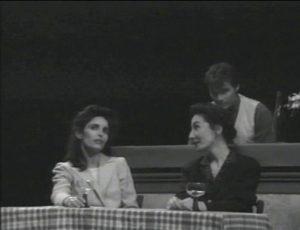 La cigogne n'a qu'une tête Igor Futterer Sabine Sabin NC Théâtre de Ménilmontant 1996