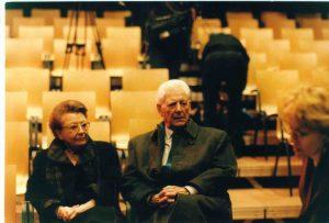 La cigogne n'a qu'une tête Igor Futterer Suzanne et Roger Millius La Laiterie Strasbourg 1998