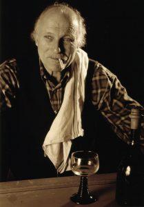 La cigogne n'a qu'une tête Igor Futterer Wolfgang Kleinertz Portrait Théâtre de Ménilmontant 1997