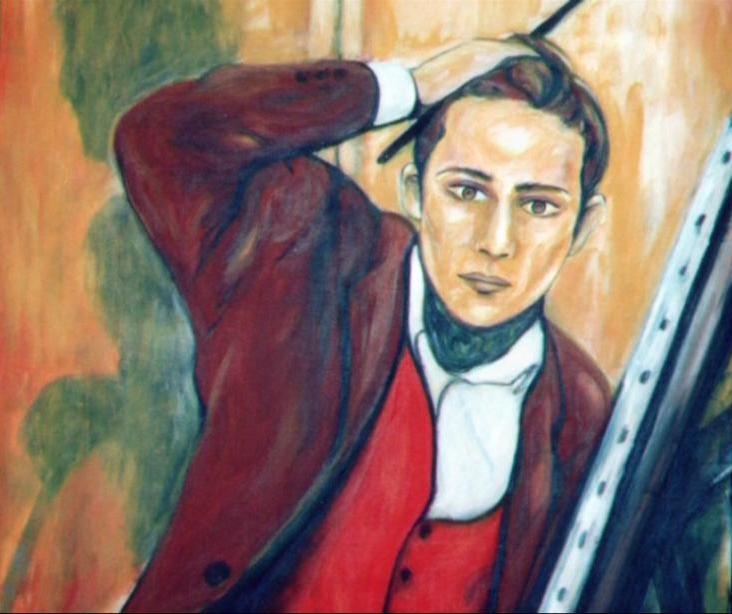 Le Modèle Guillaume Deffontaines Igor Futterer portrait 1996