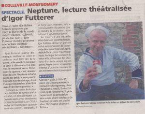 Neptune Igor Futterer Liberté 2019