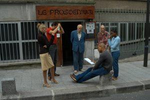 Une rose rouge pour un café noir Igor Futterer Répétition Théâtre le Proscénium 2003