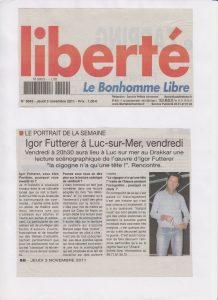 La cigogne n'a qu'une tête - Igor Futterer - Liberté - 2011